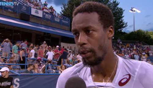 Monfils Interview: ATP Washington SF