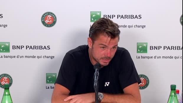"Basket : Roland-Garros - Wawrinka - ""J'ai fait avec ce que j'avais aujourd'hui"""