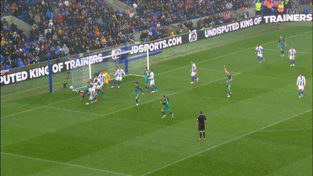 Premier League: Brighton - Tottenham | DAZN Highlights
