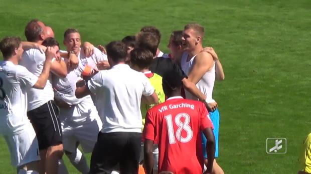 4. Liga: Irres 63-Meter-Tor gegen FC Ingolstadt