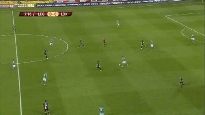 L.Europa : Legia Varsovie 1-0 Lokeren