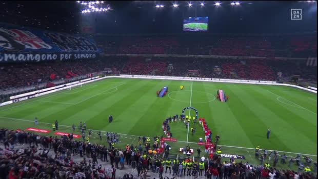 Serie A: AC Mailand - Inter Mailand   DAZN Highlights