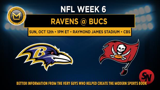Baltimore Ravens @ Tampa Bay Buccaneers