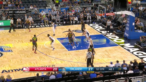 WSC: Highlights: Paul Millsap (19 points) vs. the Magic, 10/16/2016