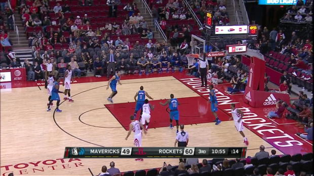 WSC: Houston Rockets with 19 3-pointers against the Mavericks