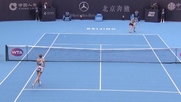 Peking: Petkovic scheitert knapp an Pliskova
