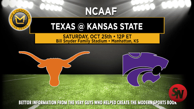 Texas Longhorns @ Kansas State Wildcats