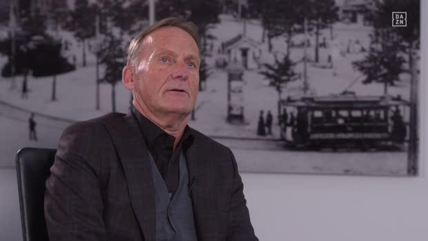 BVB-Boss Watzke im Interview mit DAZN