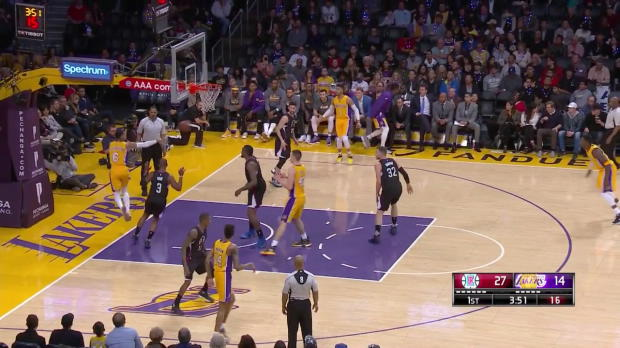 WSC: Highlights: Julius Randle (19 points) vs. the Clippers, 3/21/2017
