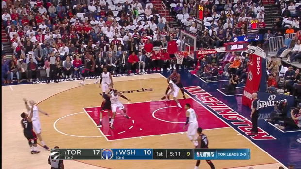 WSC: John Wall (28 points) Highlights vs. Toronto Raptors, 04/20/2018