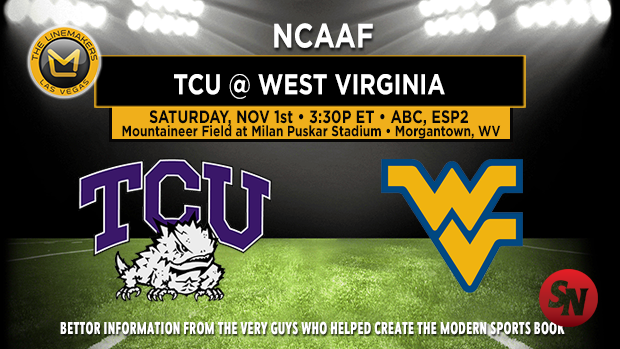 TCU Horned Frogs @ West Virginia Mountaineers