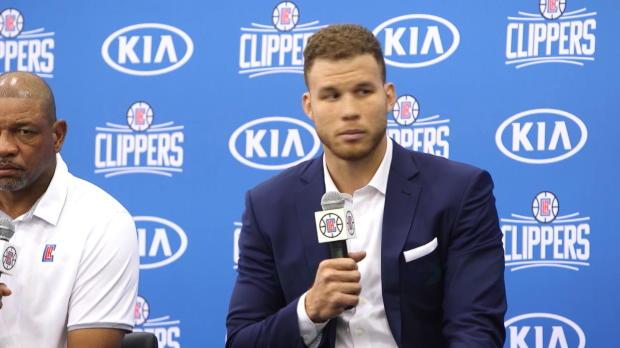 Basket : NBA - Griffin veut finir sa carrière avec les Clippers