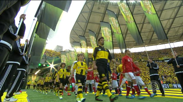 DFB Cup Final : Bayern 0-0 Dortmund (4-3 on pens)