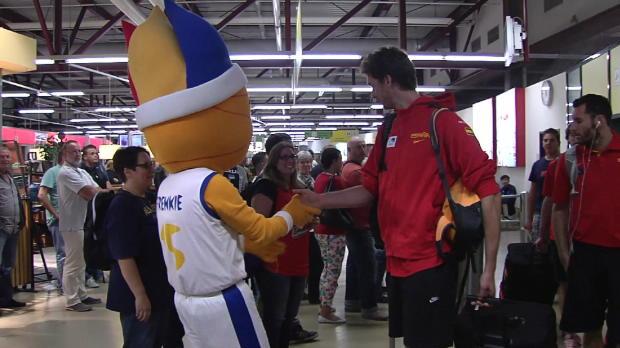Basket : FIBA - Espagne - Le voyage de Gasol à Brandenburg