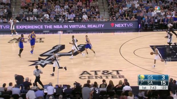 WSC: Stephen Curry: 29 Punkte gegen die Spurs