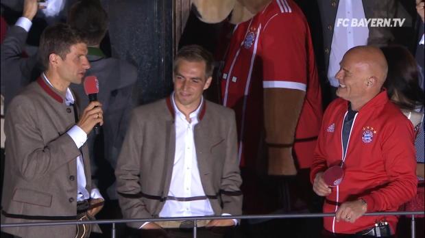 Müller rührt Lahm beinahe zu Tränen