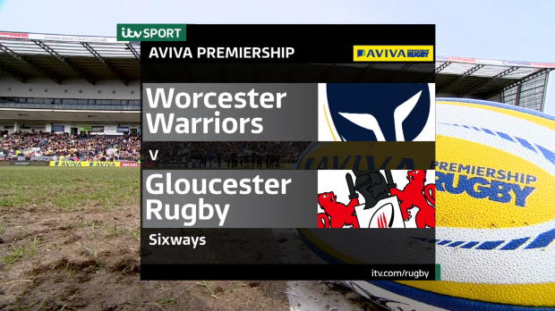 Aviva Premiership - Worcester Warriors v Gloucester Rugby