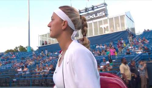 Radwanska v Kvitova Highlights: WTA New Haven SF