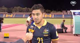 Mass Luongo says the Socceroos didn't offer enough in front of goal against Jordan.
