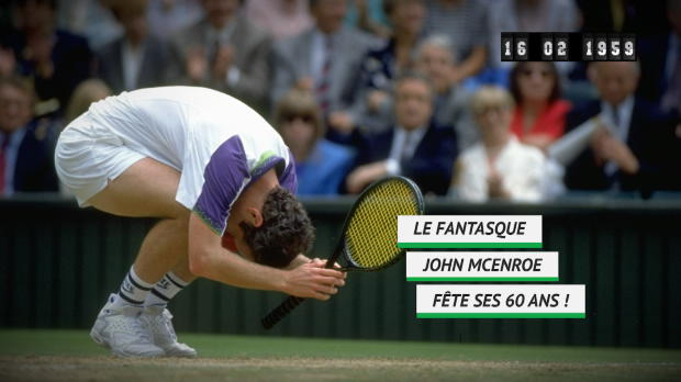 Tennis : Né le 16 février - John McEnroe fête ses 60 ans