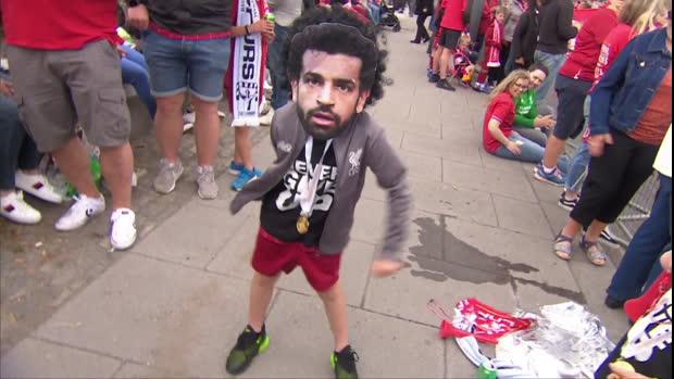 Liverpool-Fans in Ekstase nach CL-Sieg