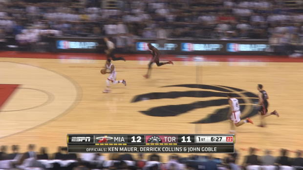 Fast Break of the Night: Kyle Lowry