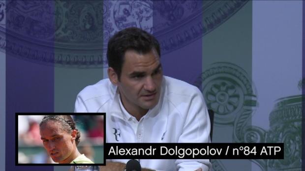 """Basket : Wimbledon - Federer - """"Je suis en bonne santé"""""""