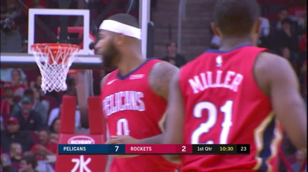WSC: DeMarcus Cousins 24 points vs the Rockets
