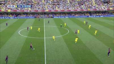 Liga : Villarreal 0-1 FC Barcelone