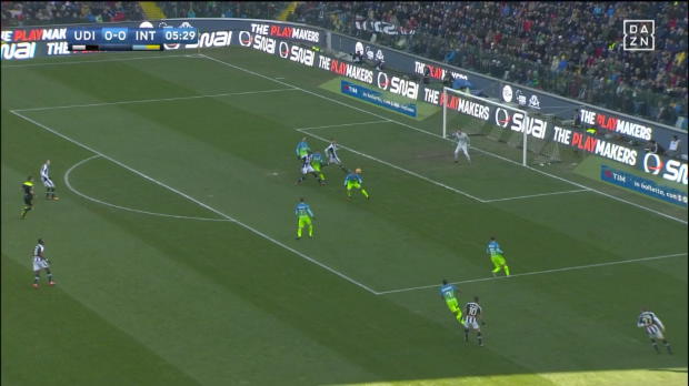 Udinese Calcio - Inter Mailand