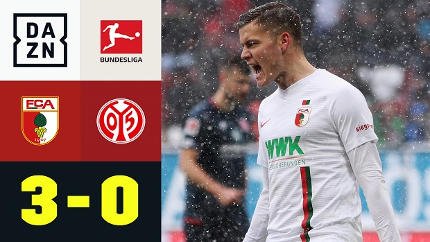 Bundesliga: FC Augsburg - 1. FSV Mainz 05 | DAZN Highlights