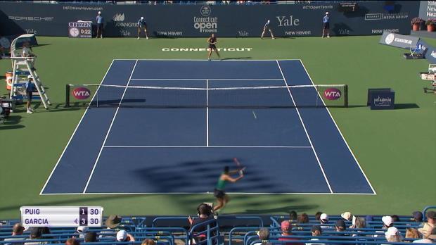 Connecticut: Olympiasiegerin Puig im Halbfinale