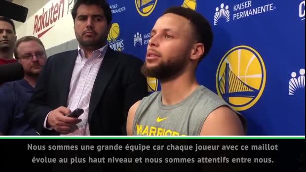NBA - Curry - 'Nous sommes critiqués avec ou sans Durant dans l'équipe'