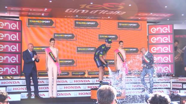 Giro - Gorka Izaguirre celebra su triunfo