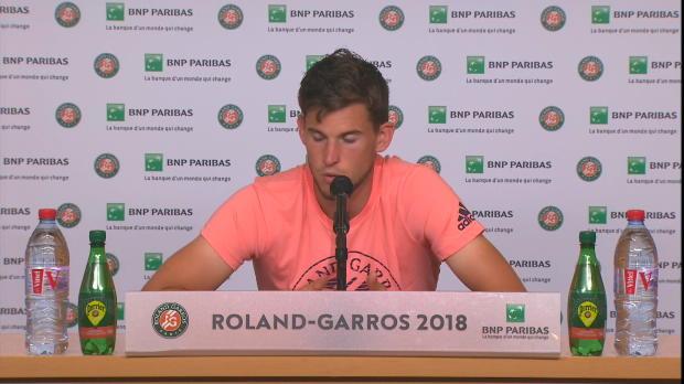 French Open: Thiem enttäuscht nach Final-Pleite