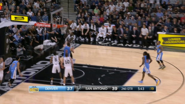 Assist of the Night - Manu Ginobili