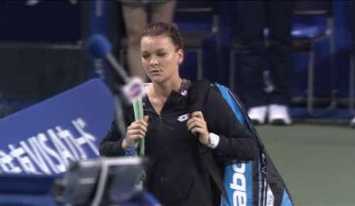 Puig v Radwanska Highlights: WTA Tokyo QF