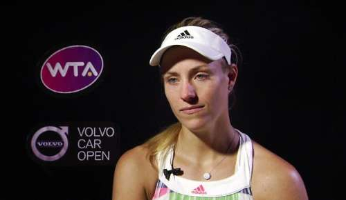 Kerber Interview: WTA Charleston 3R