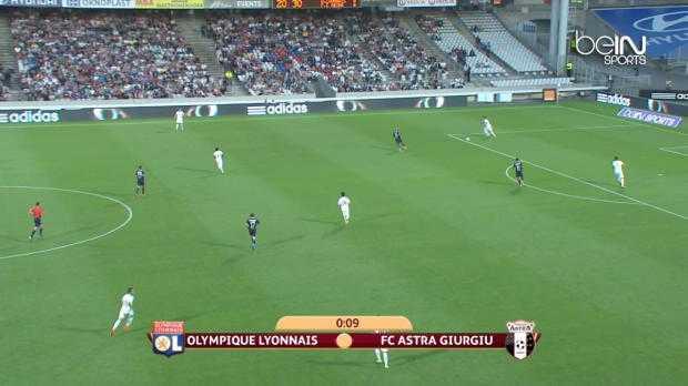 L.Europa : Lyon 1-2 Astra