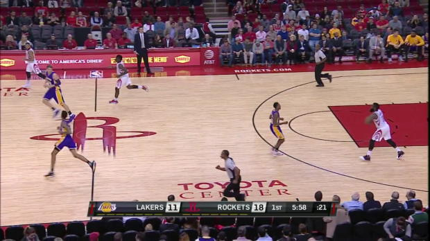 WSC: Eric Gordon with 8 three pointers against the suns
