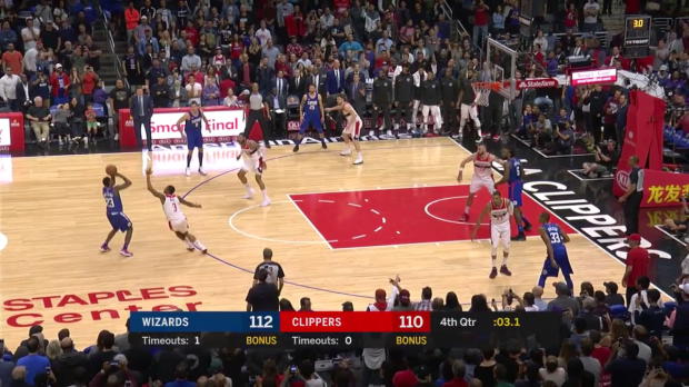 WSC: Lou Williams knocks it down as the clock expires