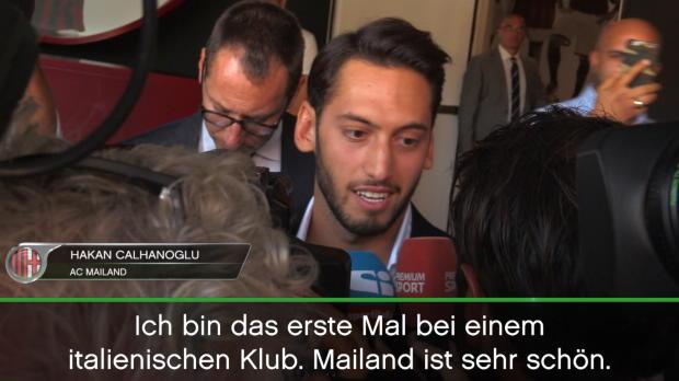 """Calhanoglu: """"Glücklich, dass Fans mich lieben"""""""