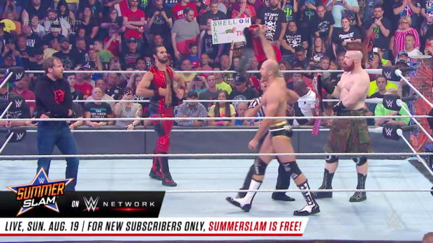 Cesaro & Sheamus vs. Seth Rollins & Dean Ambrose - Raw Tag Team Title Match: SummerSlam 2017 (Full Match - WWE Network Exclusive)
