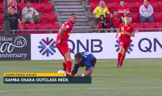 Adelaide United's ACL campaign got off to a horror start after falling 3-0 at home to Gamba Osaka on Wednesday night.