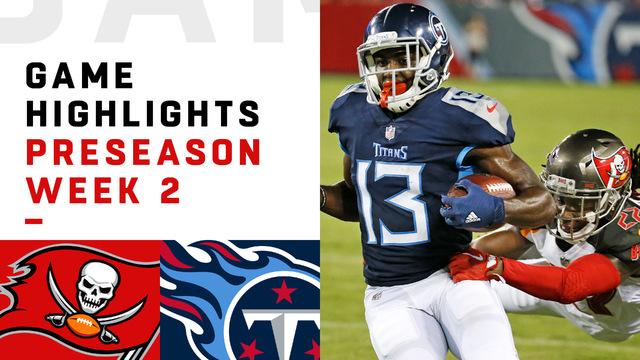Buccaneers vs. Titans highlights | Preseason Week 2