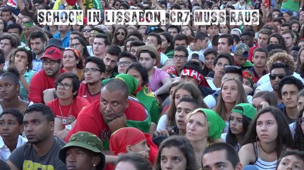 Ronaldo-Aus! Portugal-Fans in Schockstarre