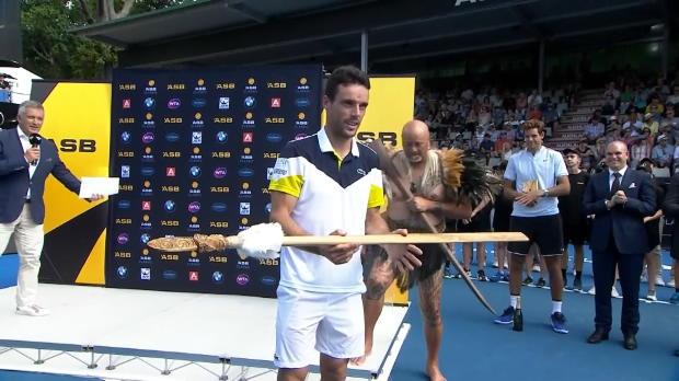 Tennis : Auckland - Bautista-Agut couronné après son succès contre Del Potro