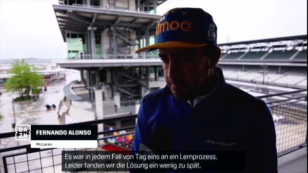 Indy 500 Interview: F1 Weltmeister Alonso scheitert in der Qualifikation
