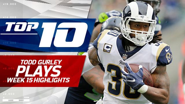Top 10 Los Angeles Rams running back Todd Gurley plays | Week 15