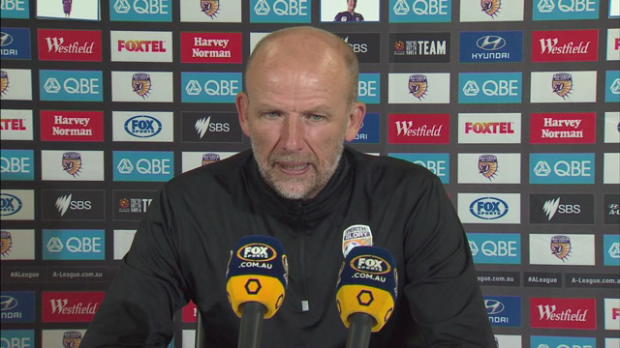 Perth Glory Rd 27 press conference